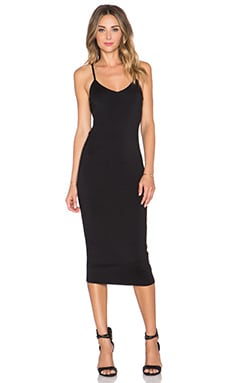 x REVOLVE Low Back Midi Dress