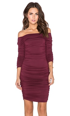 Rachel Pally Paulina Mini Dress in Cabernet