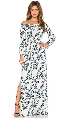 Rachel Pally Freya Maxi Dress in Conifer Ikat