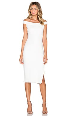 Wen Thick Rib Dress in Ivory