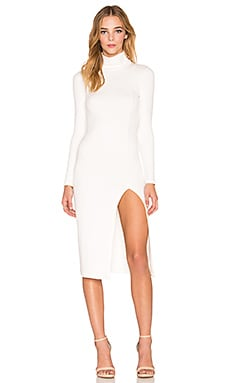 Rachel Pally Taraji Thick Rib Dress in Ivory