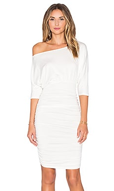 Faraday Dress in White