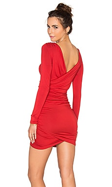 Praia Reversible Dress in Rosso