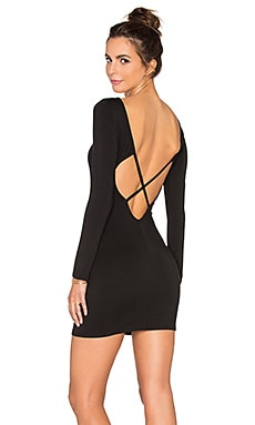 x REVOLVE Cross Back Dress
