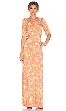 Finnie Maxi Dress in Fiore