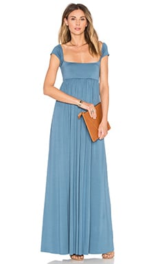 Isa Cap Sleeve Dress in Moonflower