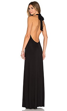 Fausto Maxi Dress in Black
