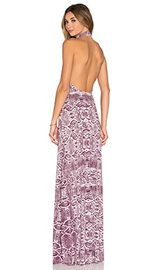 Rachel Pally Tommy Maxi Dress in Currant Viper
