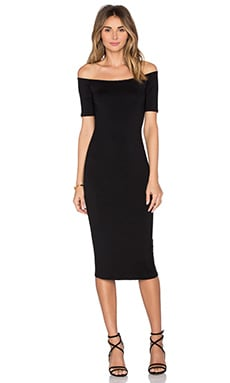 Jagger Midi Dress in Black