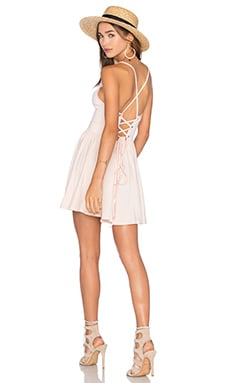 Rachel Pally Hunter Mini Dress in Champagne