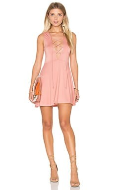 Kaili Mini Dress in Dusty