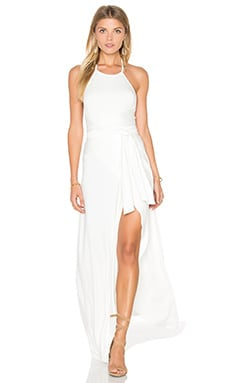 Kaia Maxi Dress in White