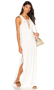 Jolene Maxi Dress en Blanc