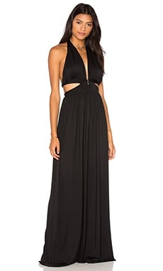 Naeva Maxi Dress en Noir
