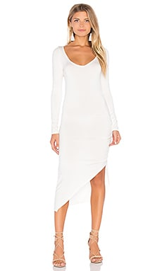 Maricela Dress in White