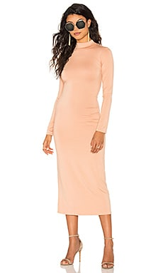 Stella Midi Dress en Eau De Rose