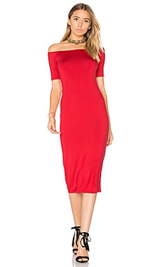 Jagger Midi Dress in Amorous