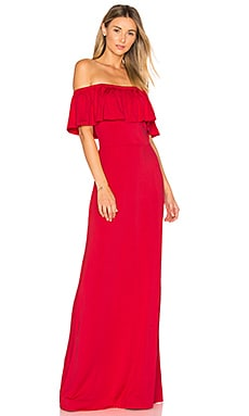 Reston Maxi Dress in Foxy