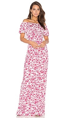 Reston Maxi Dress in Lover Jardin