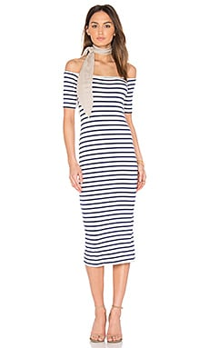 Jagger Dress in Jupiter Stripe