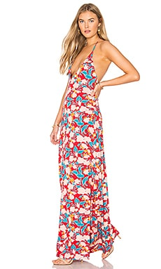 Nessa Dress in Tropic Print