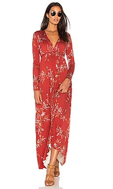 Long Sleeve Maxi Caftan