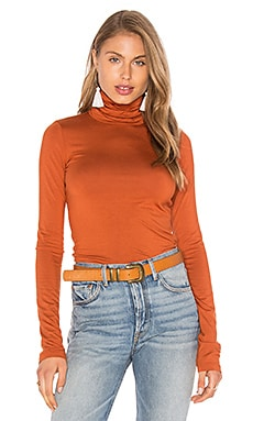 Basic Turtleneck en Copper