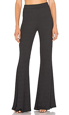 Karson Pant in Charcoal Sweater Rib