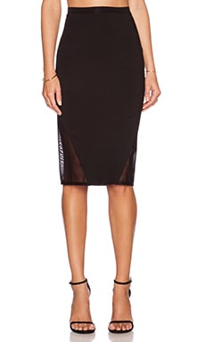 Rachel Pally Mesh Sheldon Skirt in Black