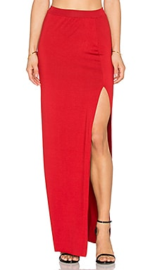 Rachel Pally x REVOLVE Slit Skirt in Rosso