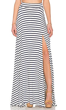 Josefine Maxi Skirt in Atlantic Stripe