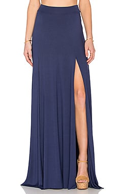 x REVOLVE Josefine Maxi Skirt in Atlantic