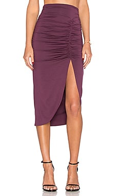 Monte Skirt in Currant