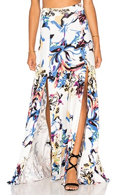 Josephine Maxi Skirt in Botanical