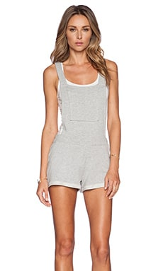 Rachel Pally Hugh French Terry Overall in Grey