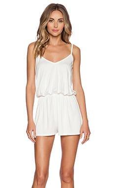 Rachel Pally Miles Romper in White