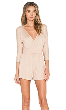 Rachel Pally Reversible Edun Romper in Bamboo