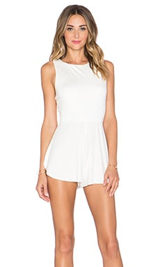 Joan Romper in White