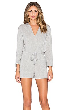 Rachel Pally French Terry Cassius Playsuit in Grey