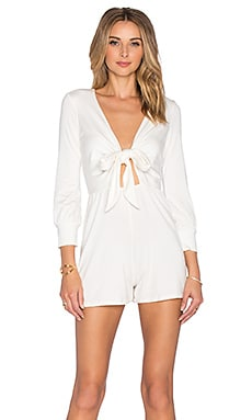 Rachel Pally Gabriel Playsuit in White