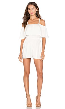 Tobias Playsuit in White