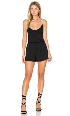 Rachel Pally Arisa Playsuit in Black