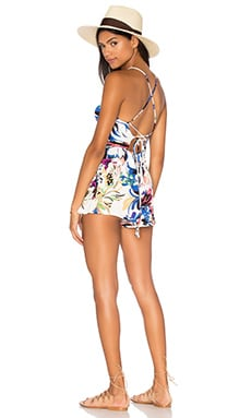 Arisa Playsuit in Botanical