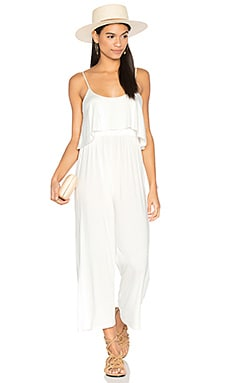 Dillon Jumpsuit in White