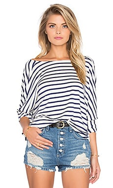 Rachel Pally Tim Top in Atlantic Stripe