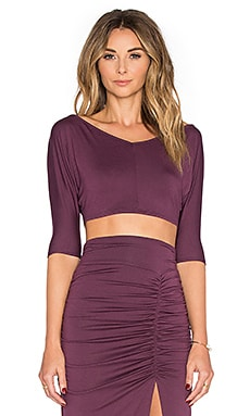 Layna Top in Currant