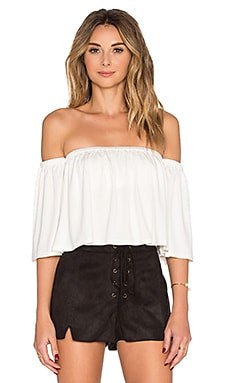 Rachel Pally Esmeralda Top in White