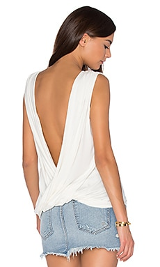 Sleeveless Castaway Top in White
