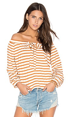 Marc Top in Flan Stripe