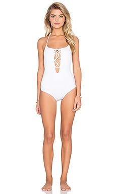 Rachel Pally La Jolla Swimsuit in White